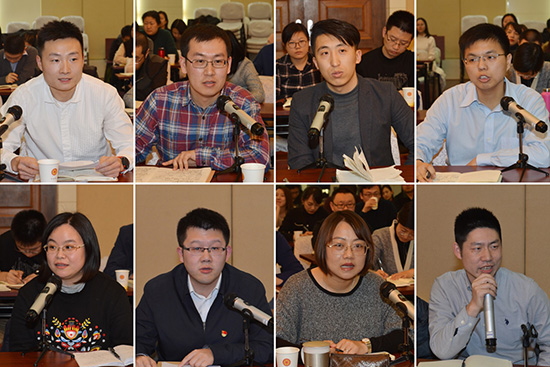万立骏主席出席中国侨联青年干部座谈会并讲话